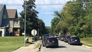 Police investigate homicide in 4200 block of Tracy Avenue