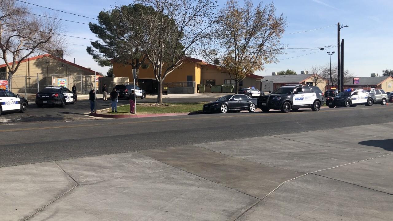 Police Presence at College Heights Elementary