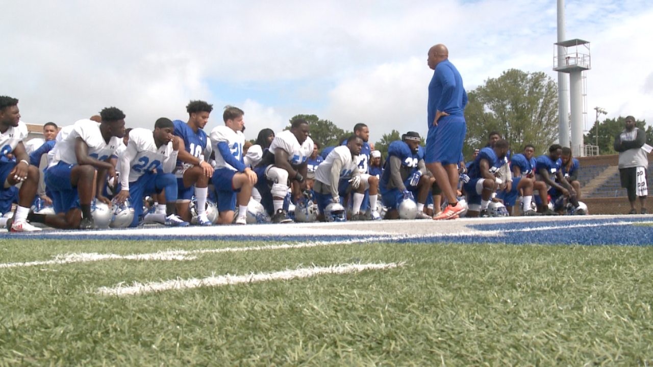 Hampton football hosts Virginia Union University