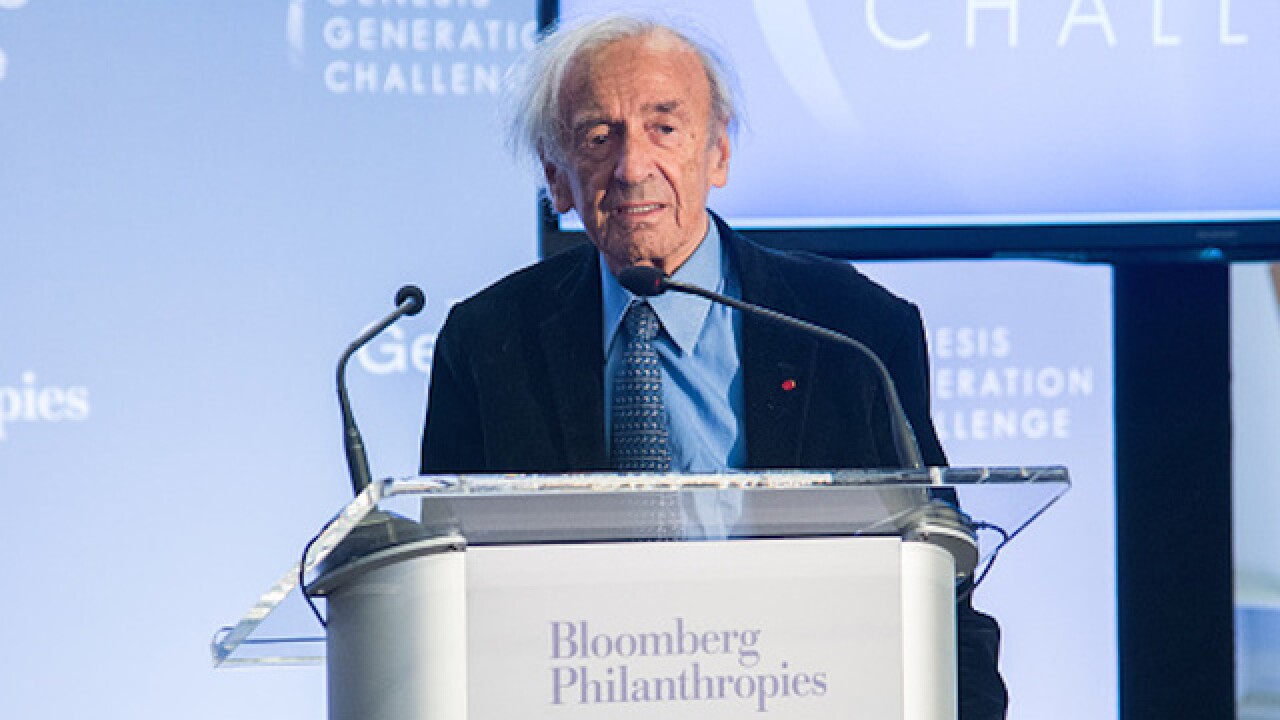 Holocaust survivor, author Elie Wiesel dies at 87