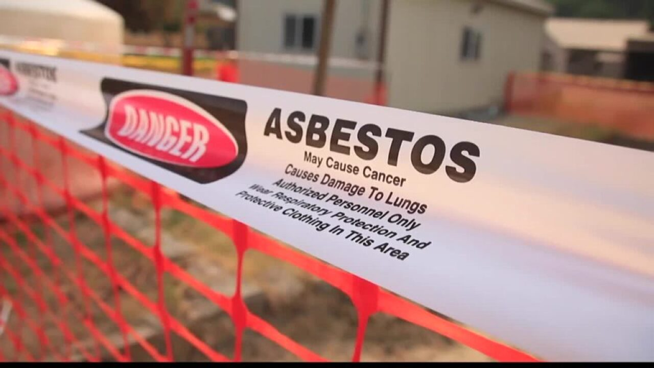 Lincoln County asbestos cleanup to be turned over to county, state officials