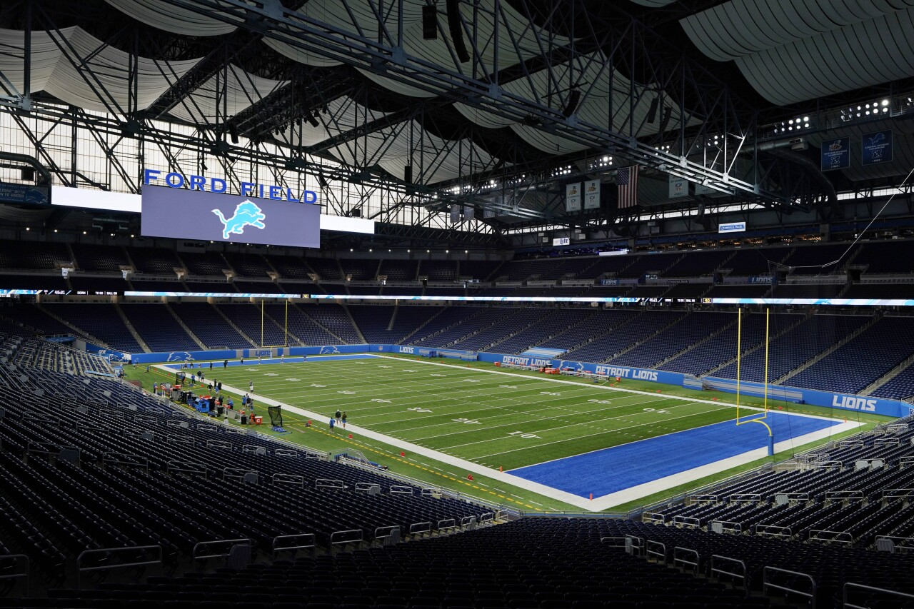 Detroit Lions Ford Field 2020