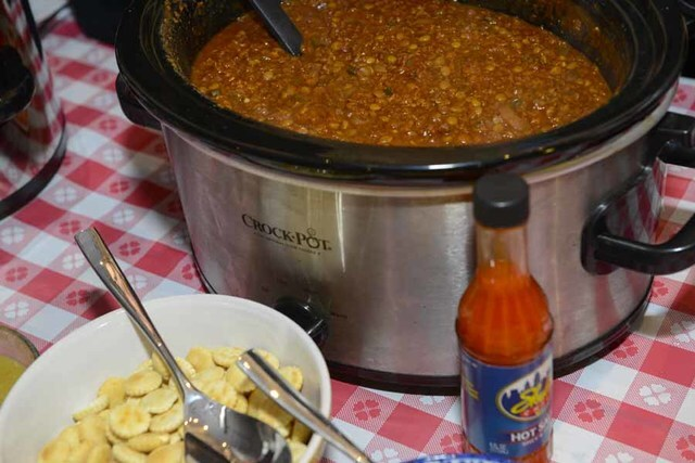 Last day, final chili cookoff at Park + Vine