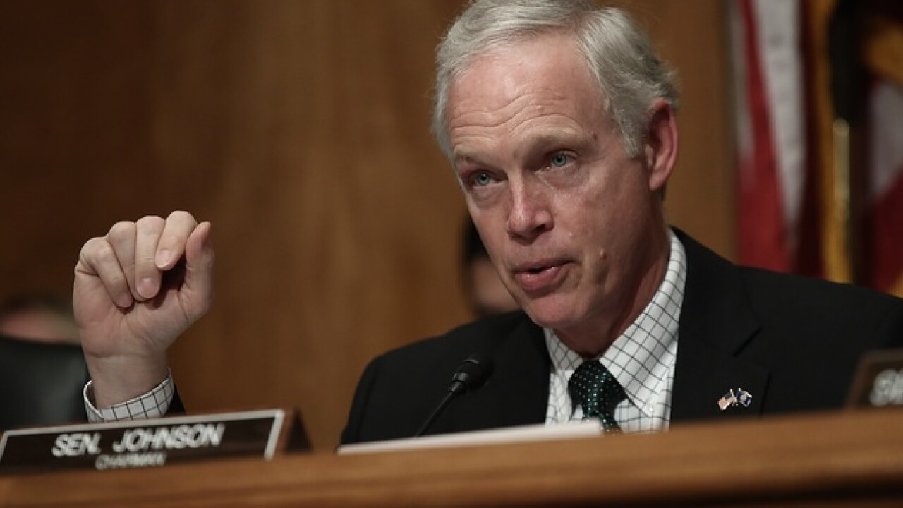 Sen. Ron Johnson: Players should stand for anthem