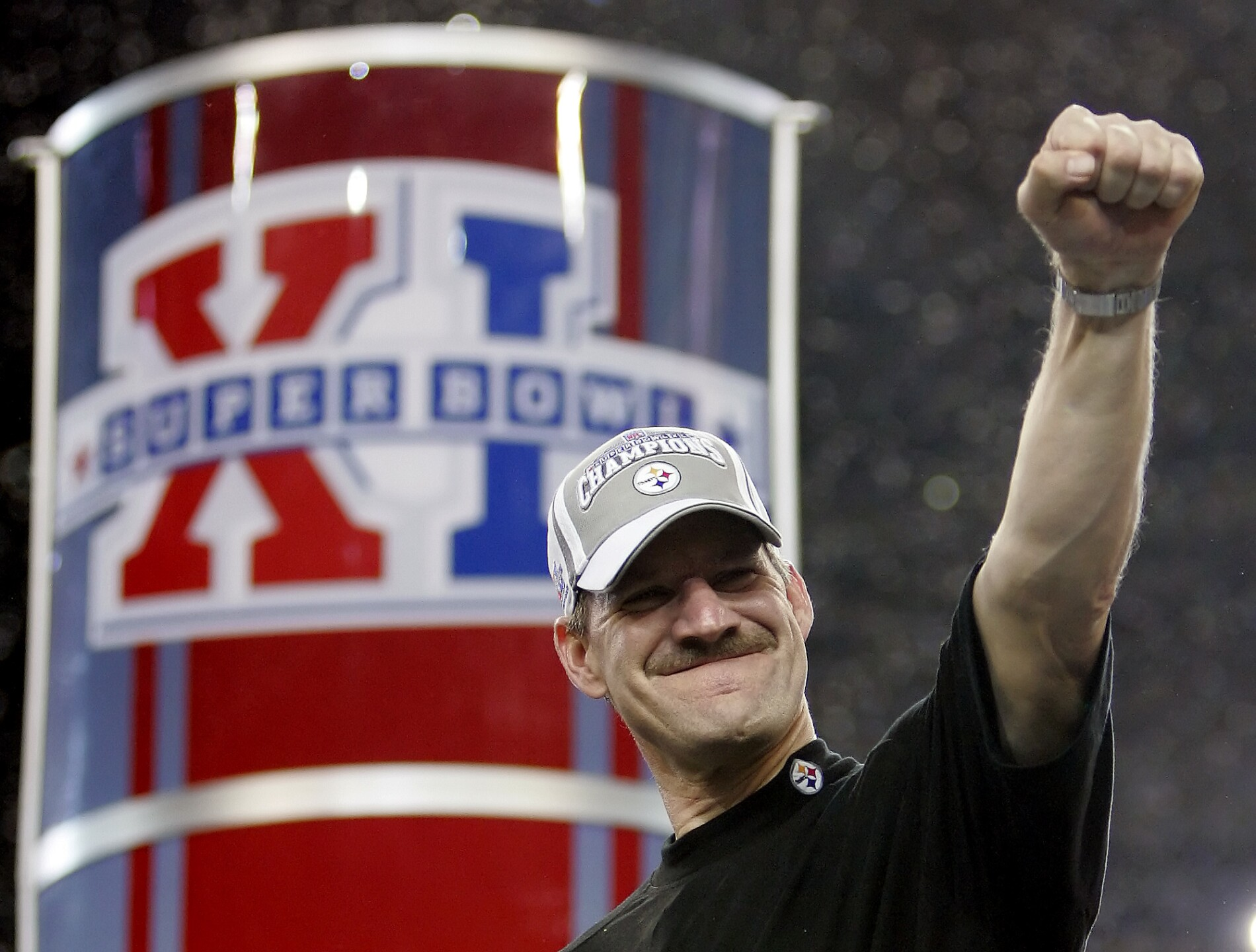 FORD FIELD SEATTLE SEAHAWKS PITTSBURGH STEELERS COWHER