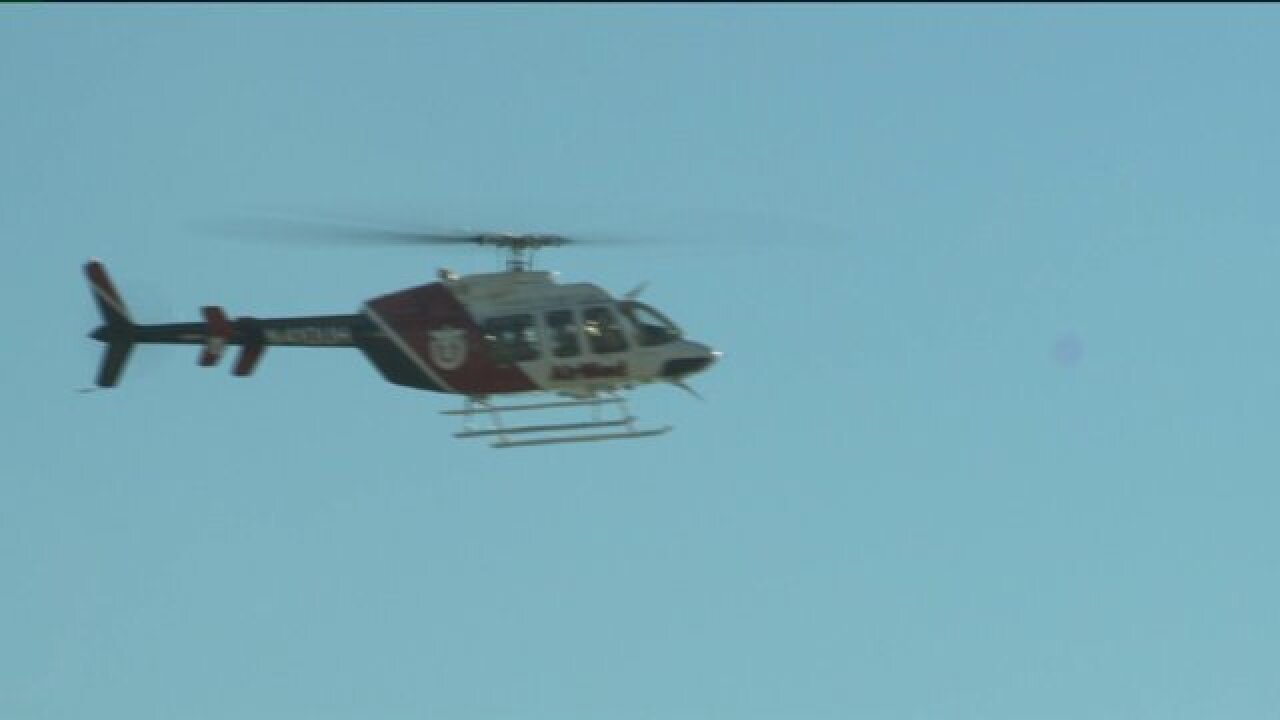 Police learn to assist helicopter crews during emergencies