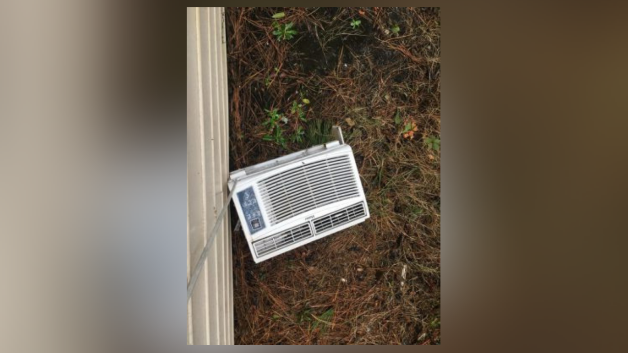 A/C unit ripped out of window during burglary inNorfolk