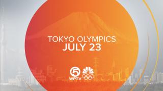 Tokyo Olympics July 23 WPTV NBC logo