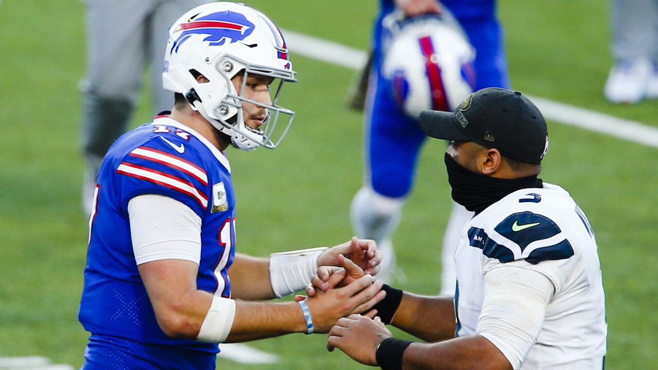 Josh Allen shines as Bills' offense explodes in win against Seahawks
