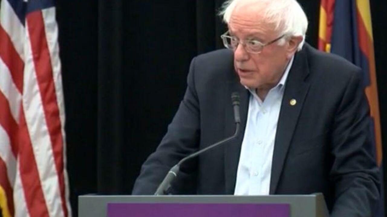 Bernie Sanders campaigns for Garcia in Arizona