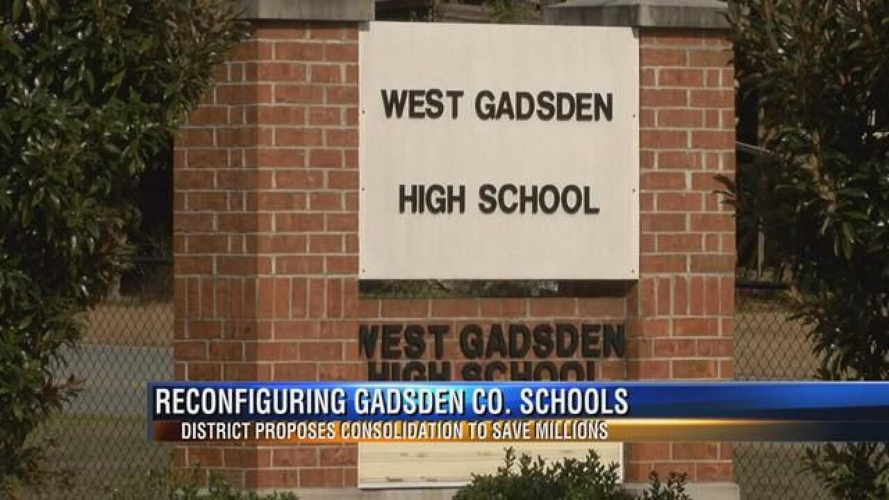 Gadsden County Schools Propose Major Reconfiguration