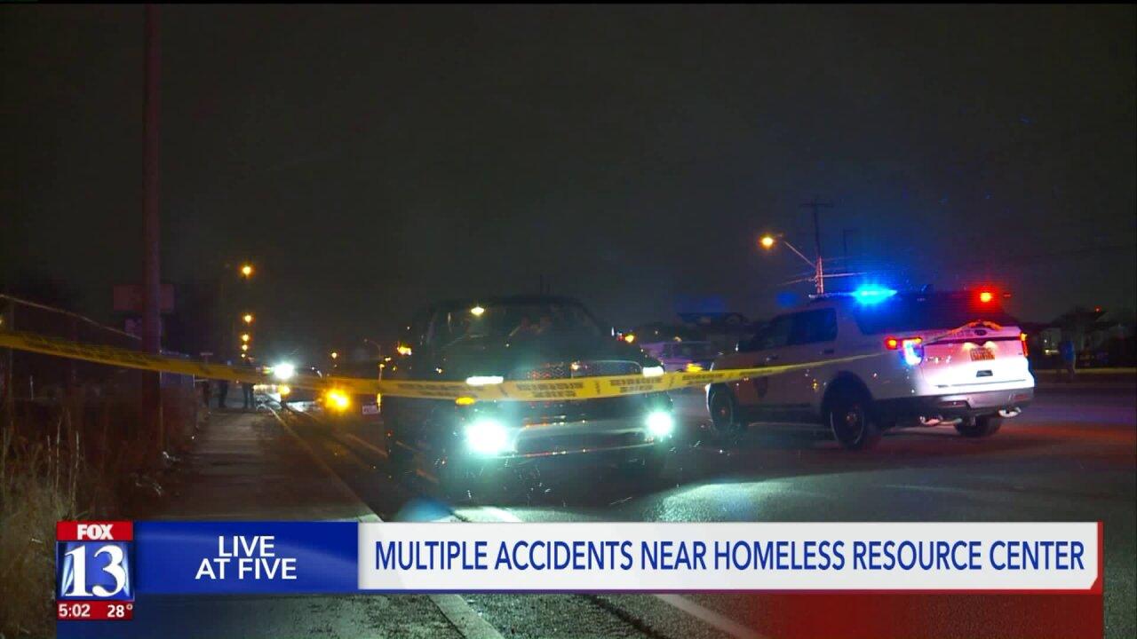 Area near South Salt Lake homeless center prone to auto-pedestrian crashes, policesay