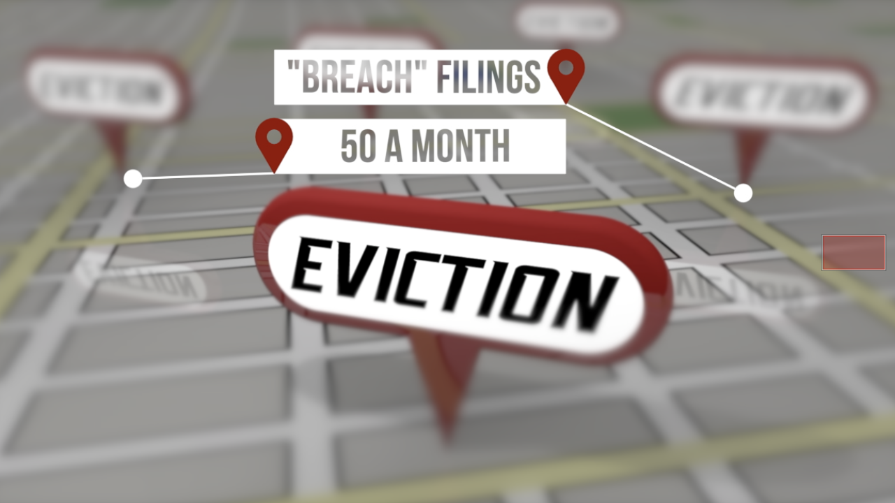 """""""Petty"""" evictions on the rise in Pima County"""