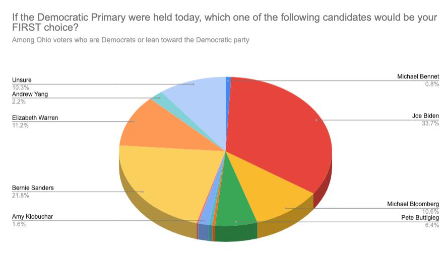 Democratic Primary Poll