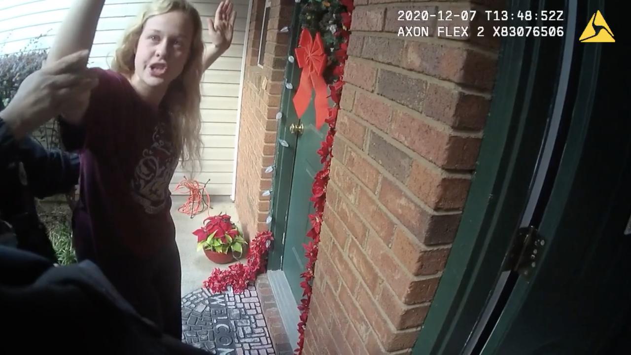 Rebekah Jones, body camera video of raid
