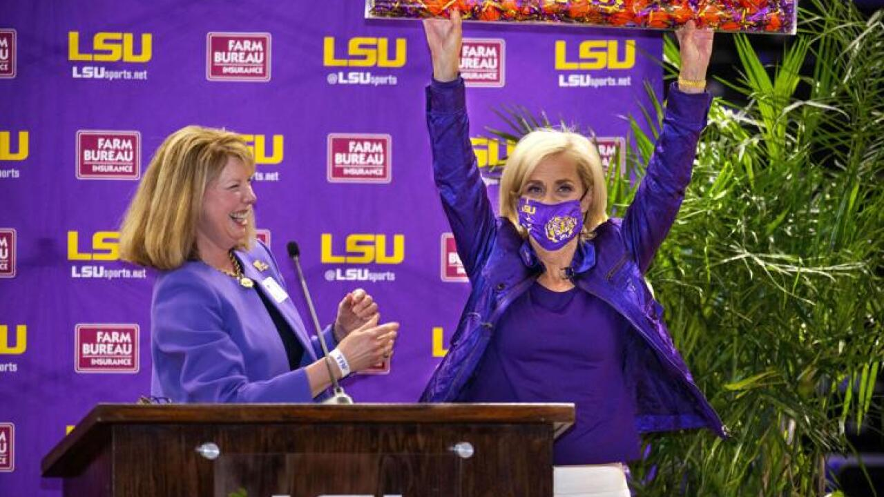 Kim Mulkey LSU Introduction