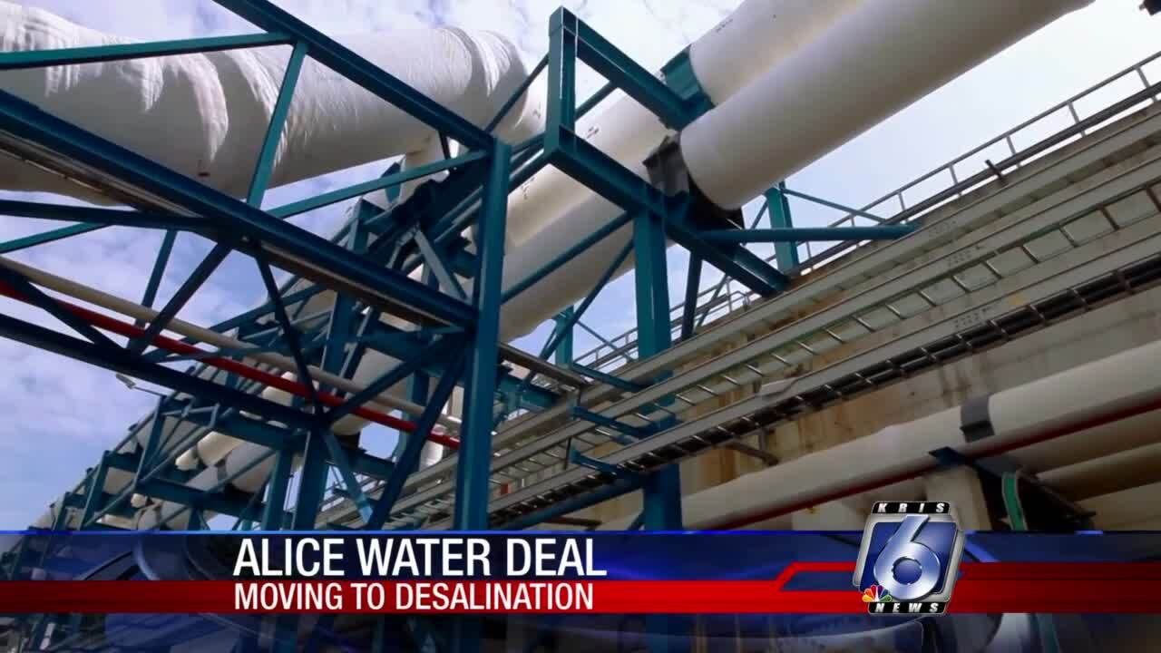 City of Alice desalination  deal