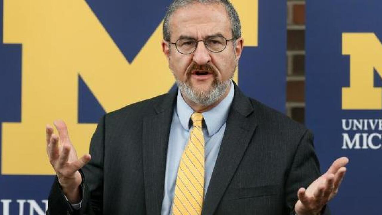 U-M president getting 5-year contract extension