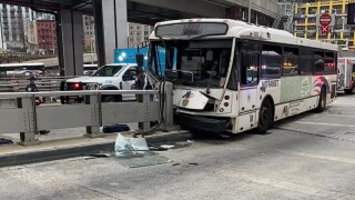 NJ Transit bus crash