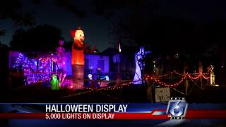 Corpus Christi man creates spooktacular Halloween display