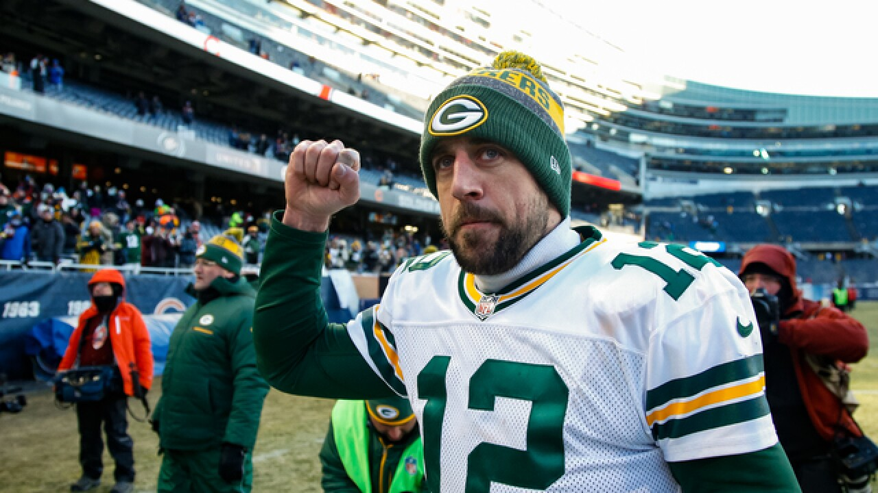 Aaron Rodgers ranked best QB in NFC North