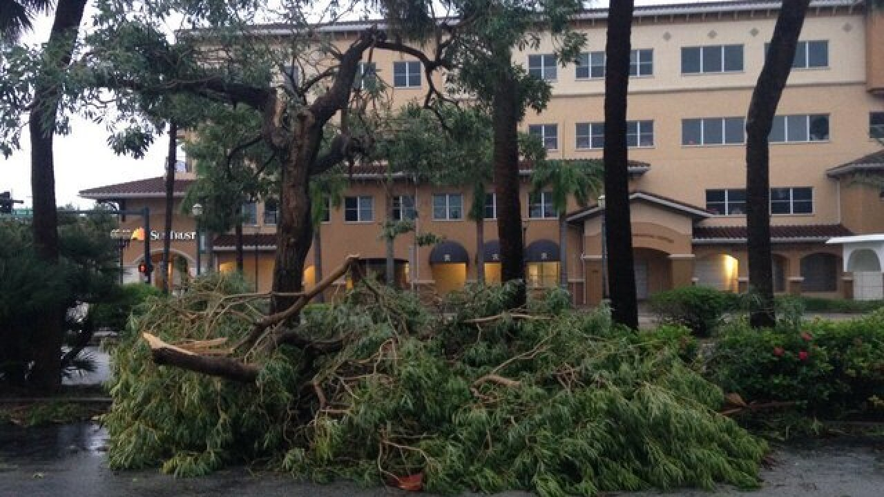 PHOTOS: Hurricane Matthew torments Florida coast