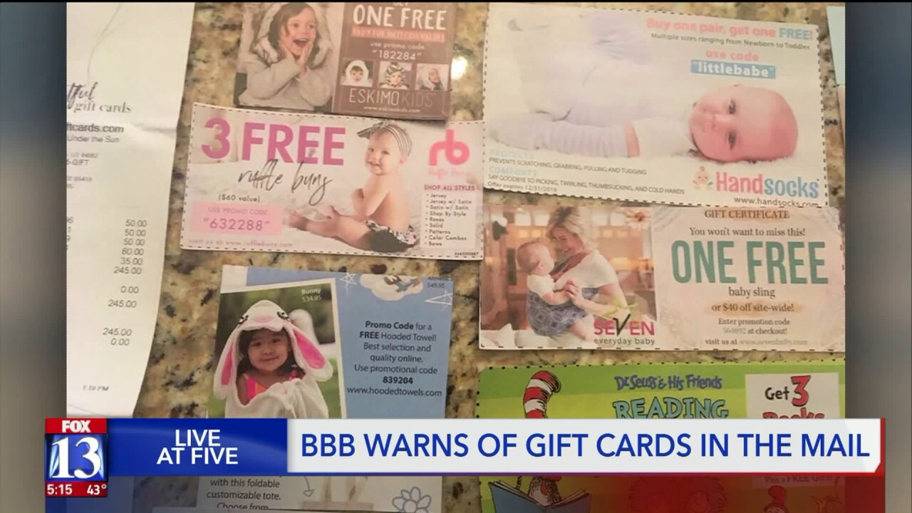 Thousands receive pregnancy gift in Utah company's marketing ploy, but they aren't pregnant