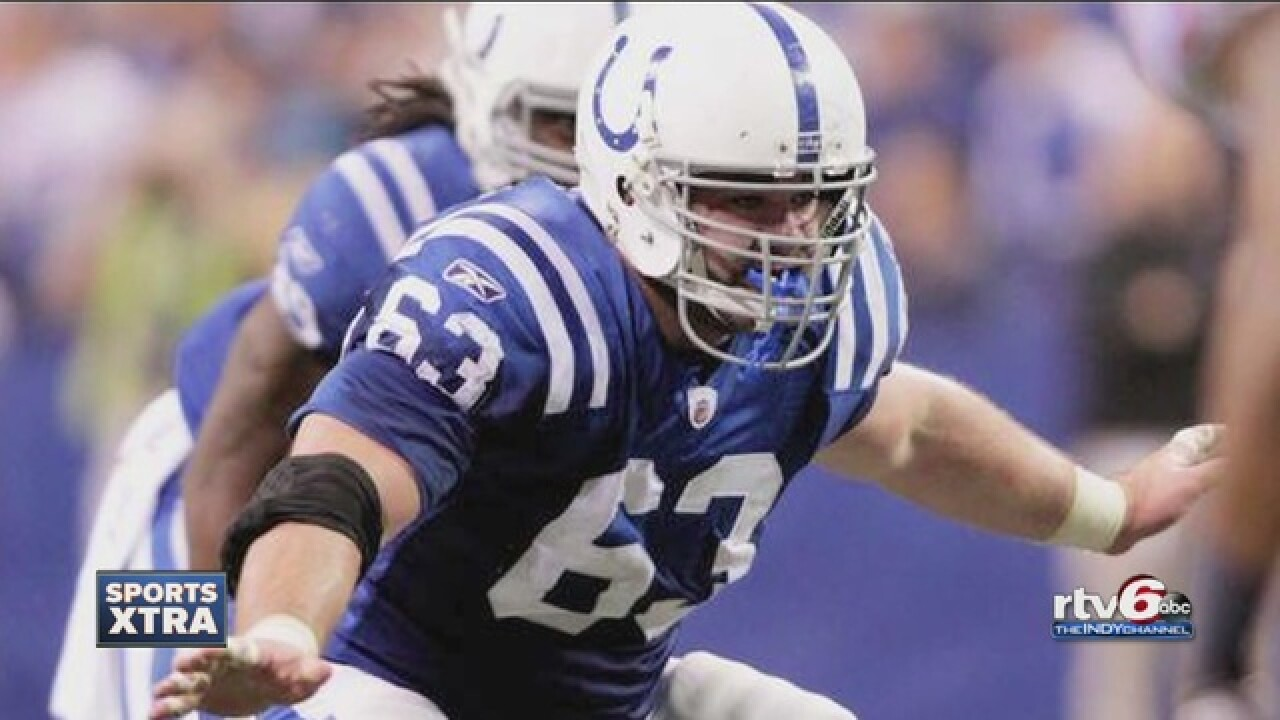 Catching up with Jeff Saturday in his new world