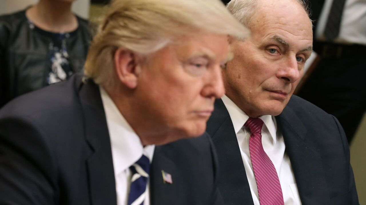 White House chief of staff John Kelly expected to resign soon