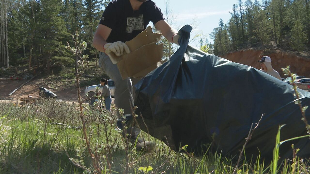 Group works to clean, combat dumping along Old Stage Road
