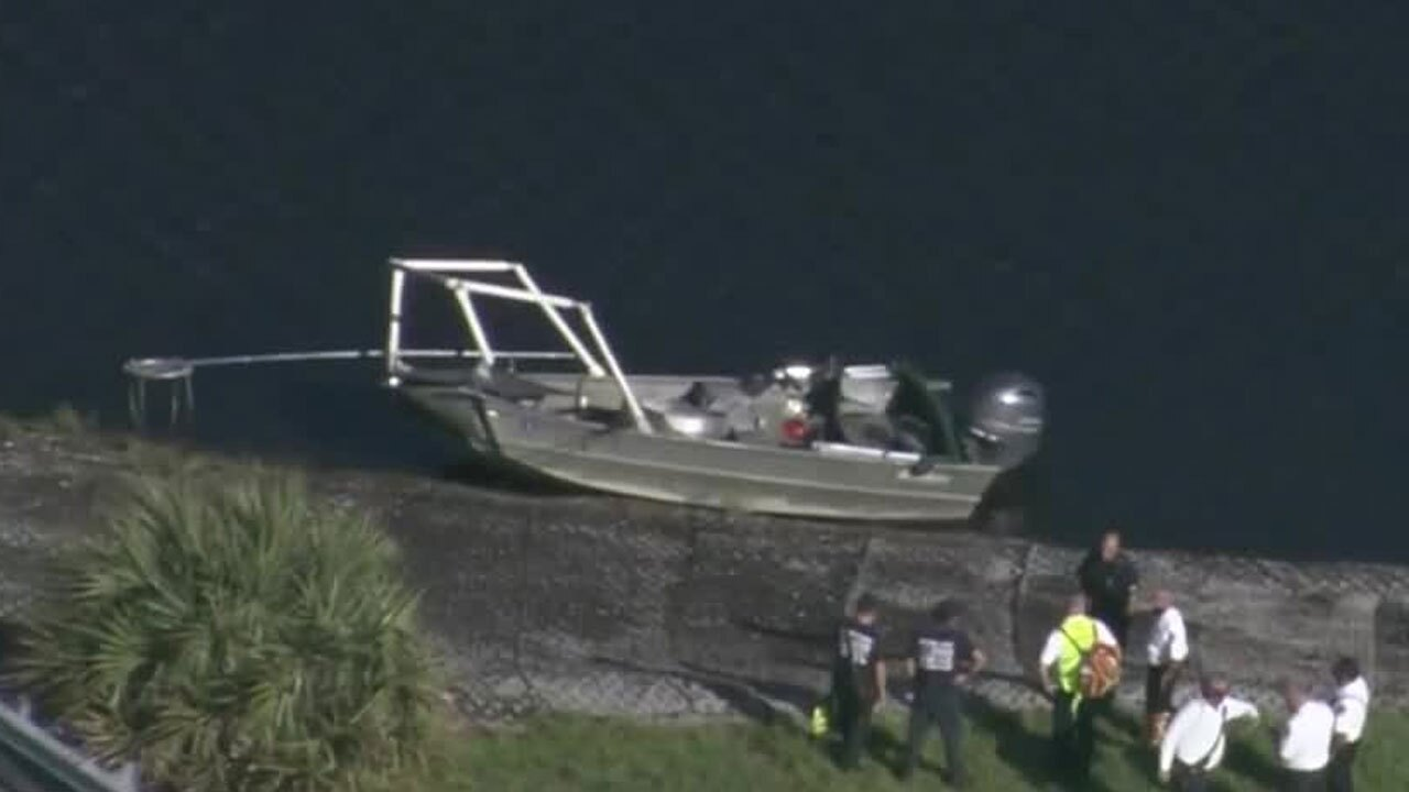 Boat crash Oct. 27, 2020, near West Palm Beach.
