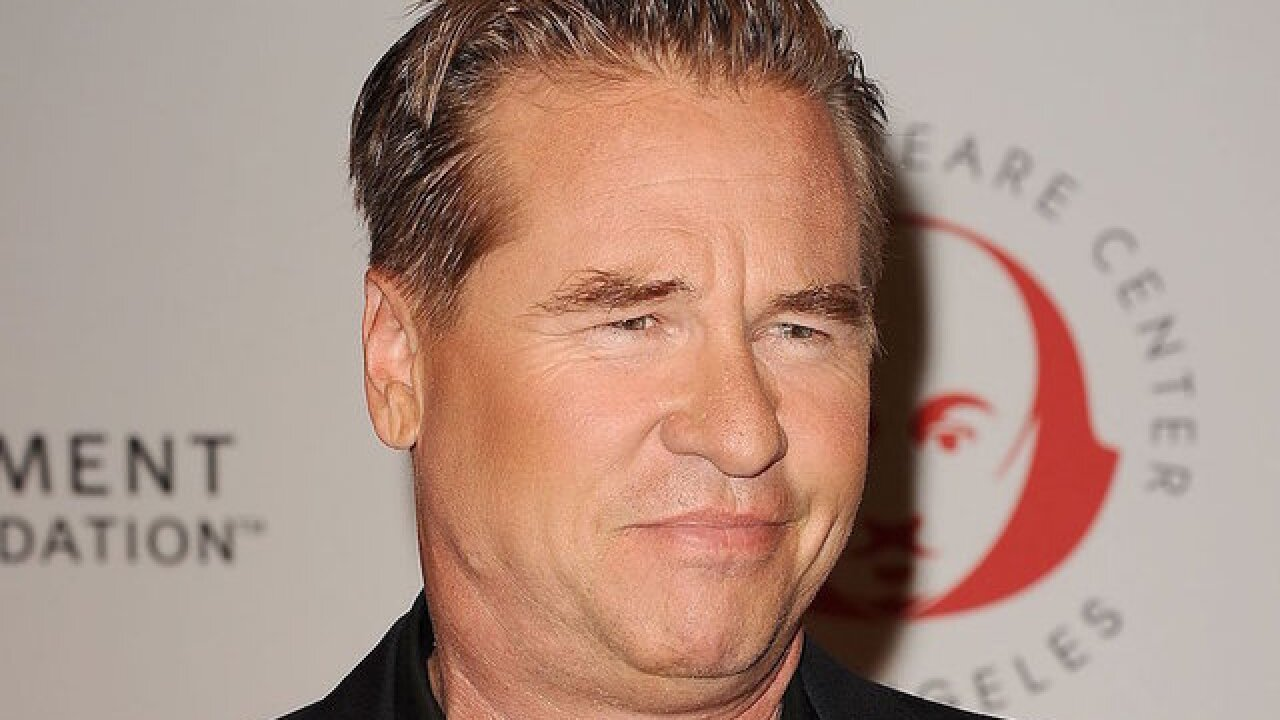 Actor Val Kilmer talks about his battle with cancer
