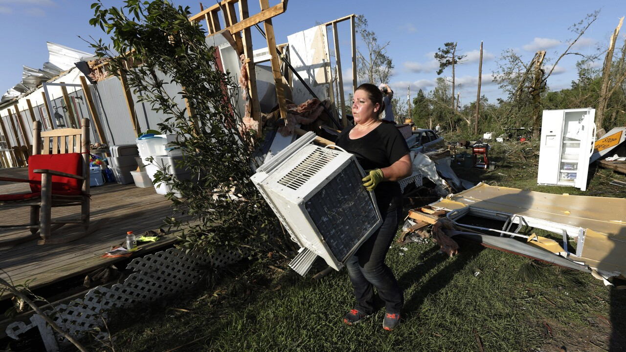 Death toll from tornado outbreak rises to at least 34