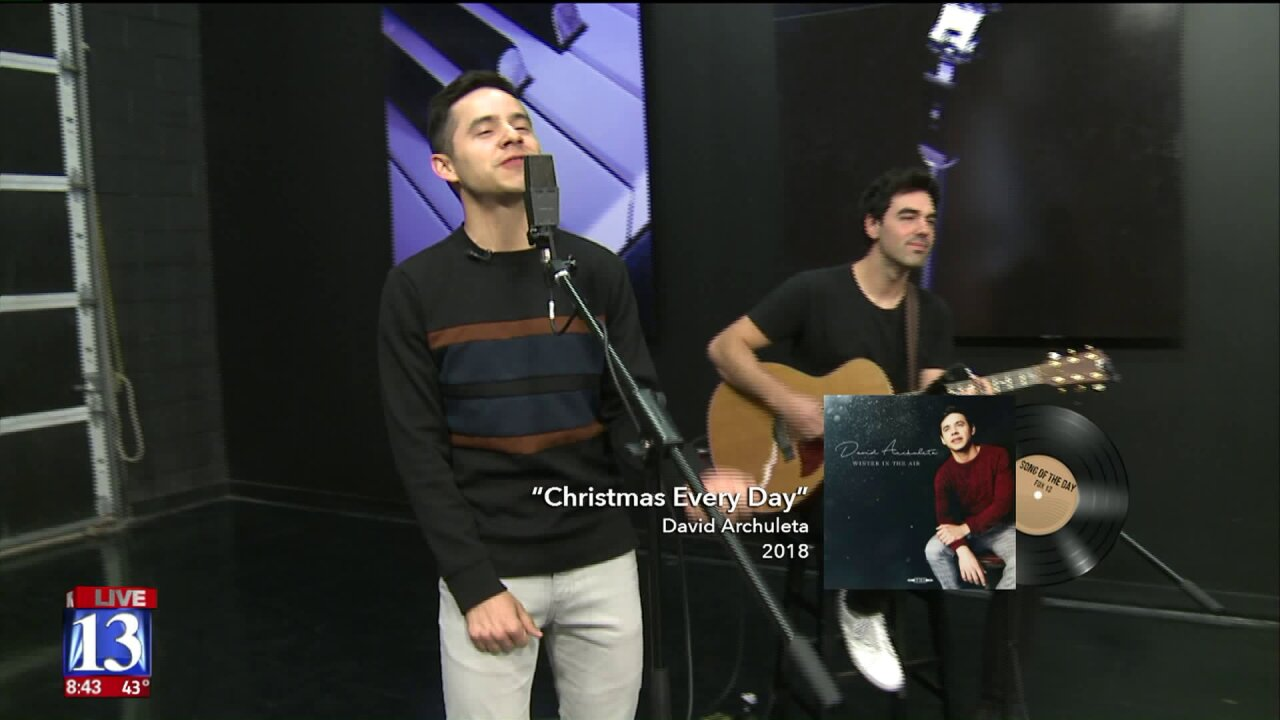 David Archuleta visits GDU, sings 'Christmas Every Day' from upcoming album