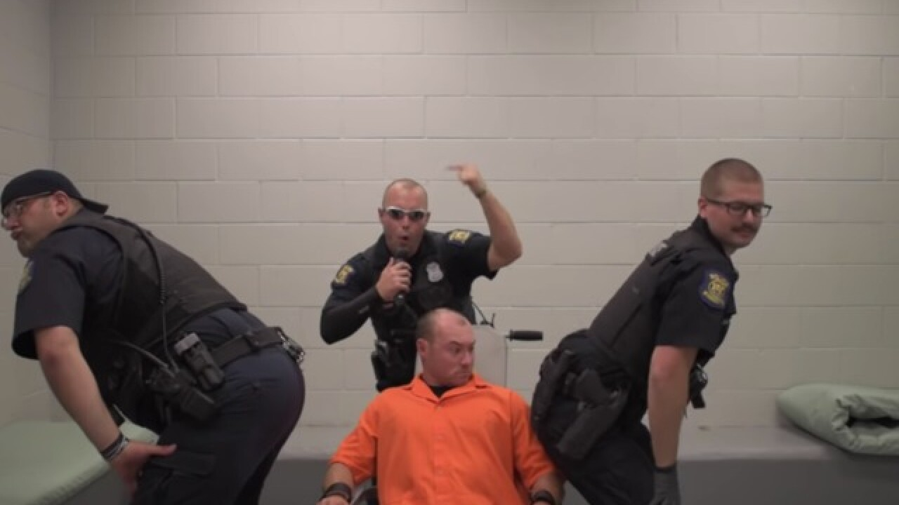 VIDEO: Wyandotte police nail lip sync challenge to 'Ice Ice Baby'