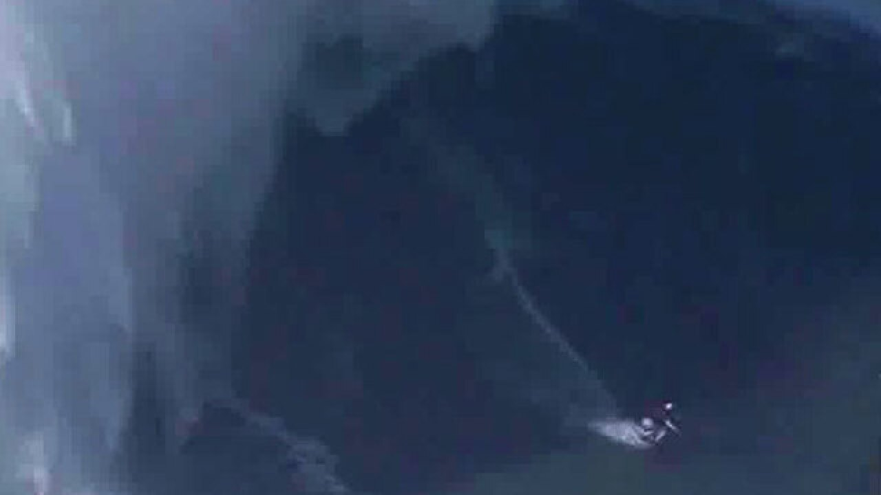 Maya Gabeira: Female surfer sets world record for biggest wave