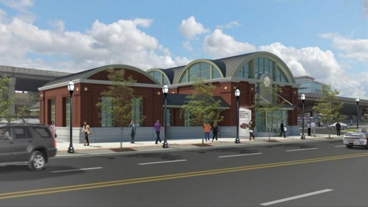 A look at Buffalo's new train station