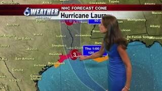 Hurricane Laura forecast 08262020