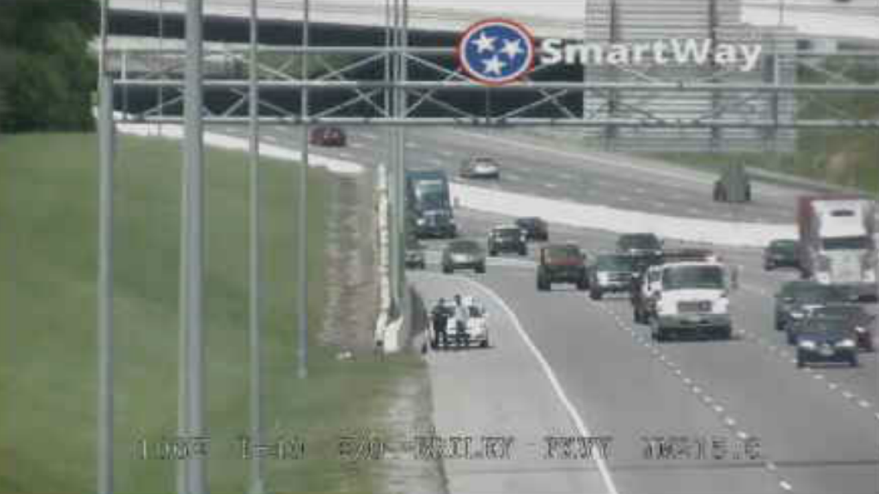 Police stop man for riding scooter on I-40 in Nashville on i-40 exits tennessee, i-40 in tennessee, i-40 road conditions tennessee, map of e tnn, map of northeast tn, map of knoxville tn and surrounding areas, interstate 40 tennessee, map hwy east tennessee,