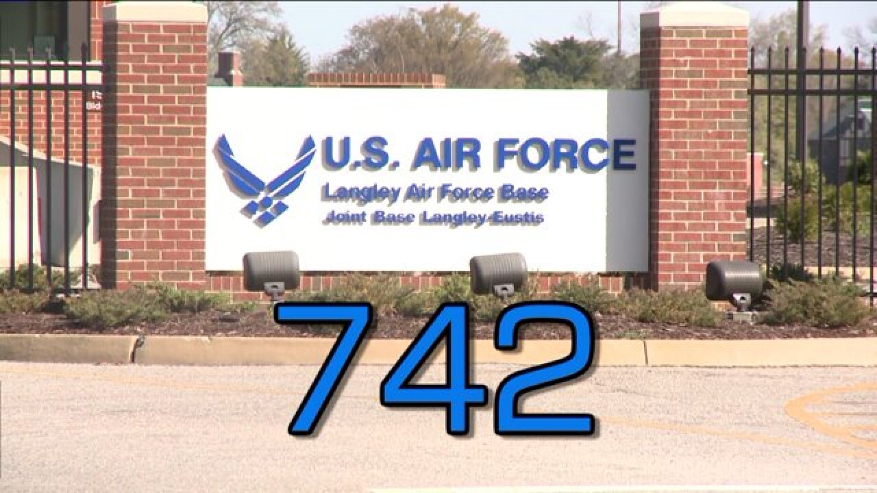 More than 700 positions to be eliminated at Langley AFB