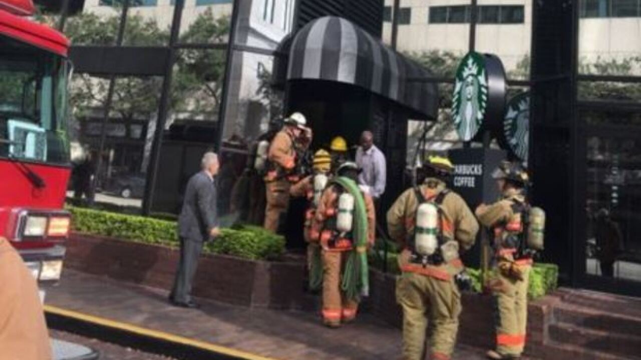 Report of fire evacuates downtown Tampa Hilton