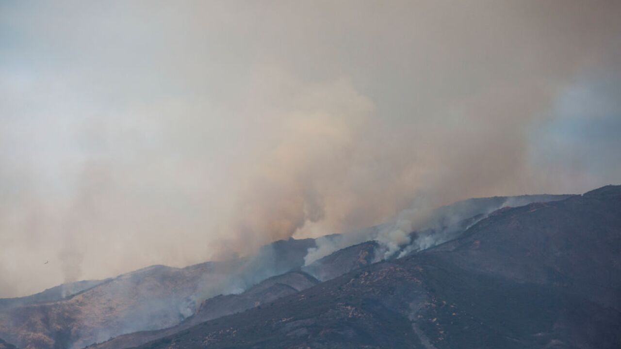 Cave Fire In Santa Barbara County Spreads To Over 400 Acres, Threatening Homes