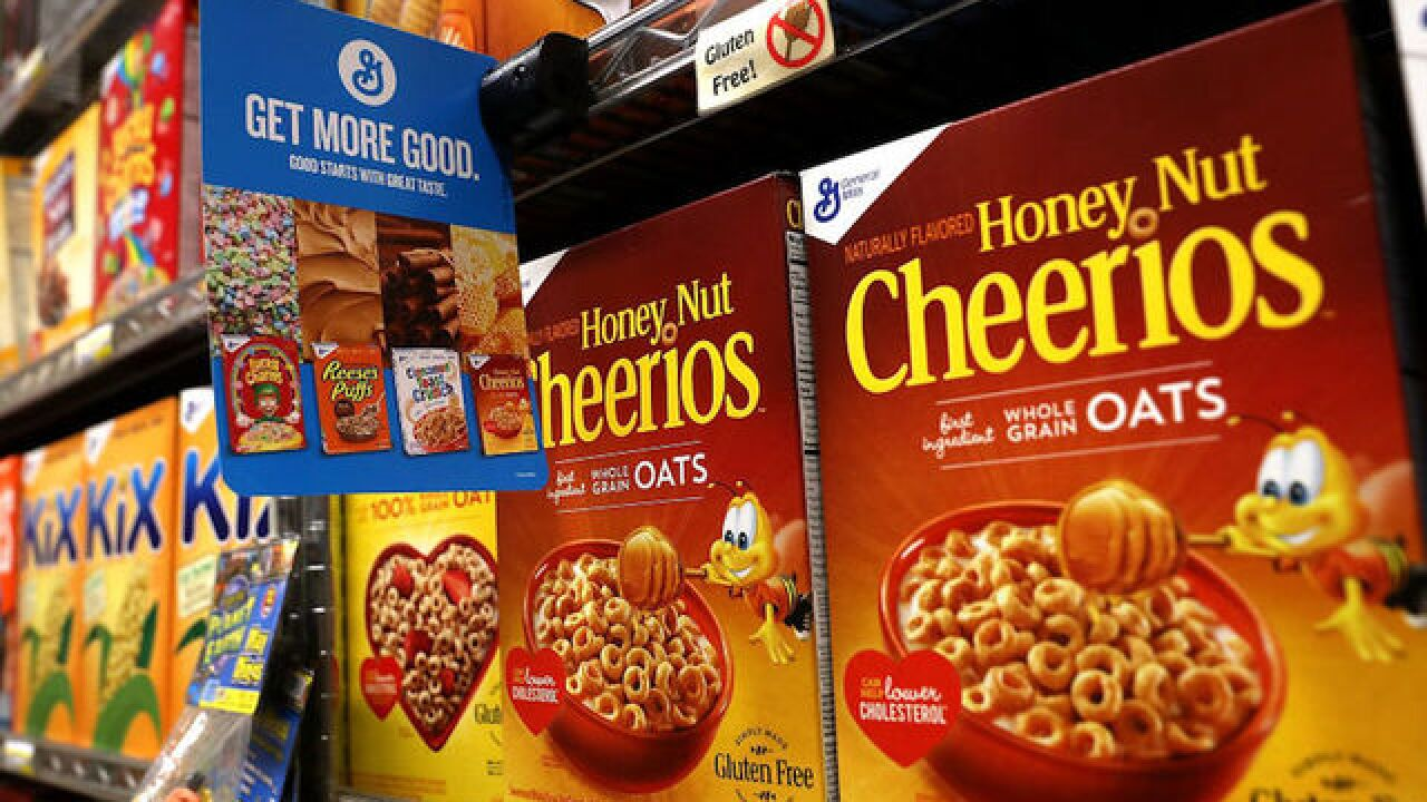 Report: More breakfast cereals, snack bars test positive for trace amounts of weed killer chemical