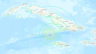 Magnitude 7.7 earthquake that hit between Cuba and Jamaica registered in Wisconsin