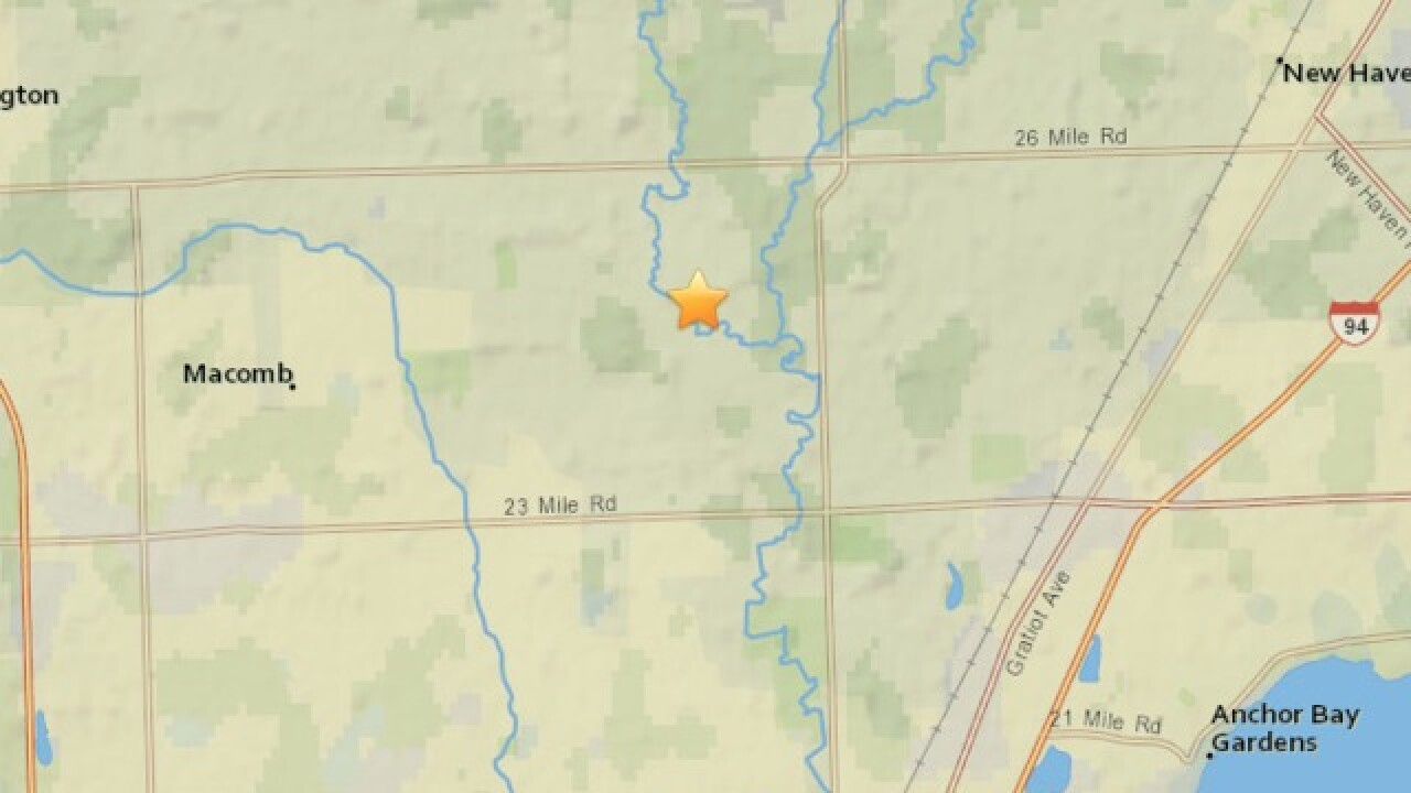 National Weather Service: Michigan meteor caused magnitude 2.0 earthquake