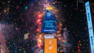 Times Square New Year's Eve celebration to be 'virtually enhanced,' organizers say
