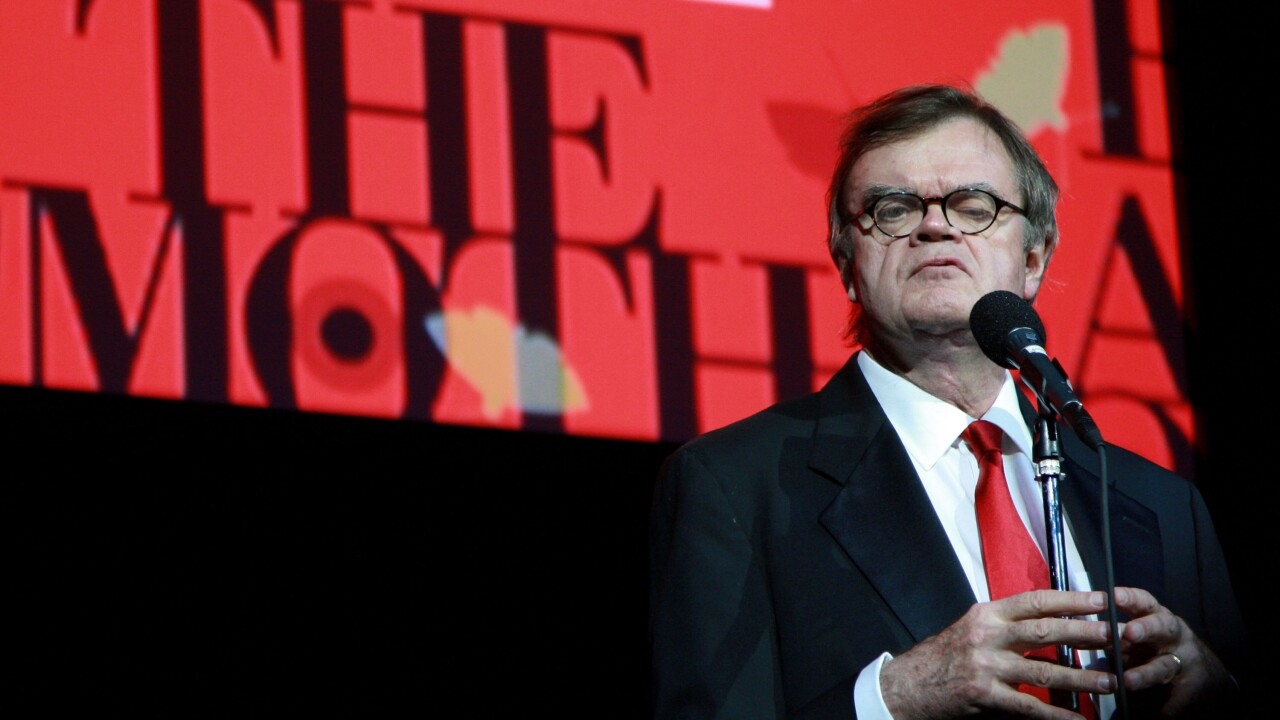 Garrison Keillor fired over claims of inappropriate behavior
