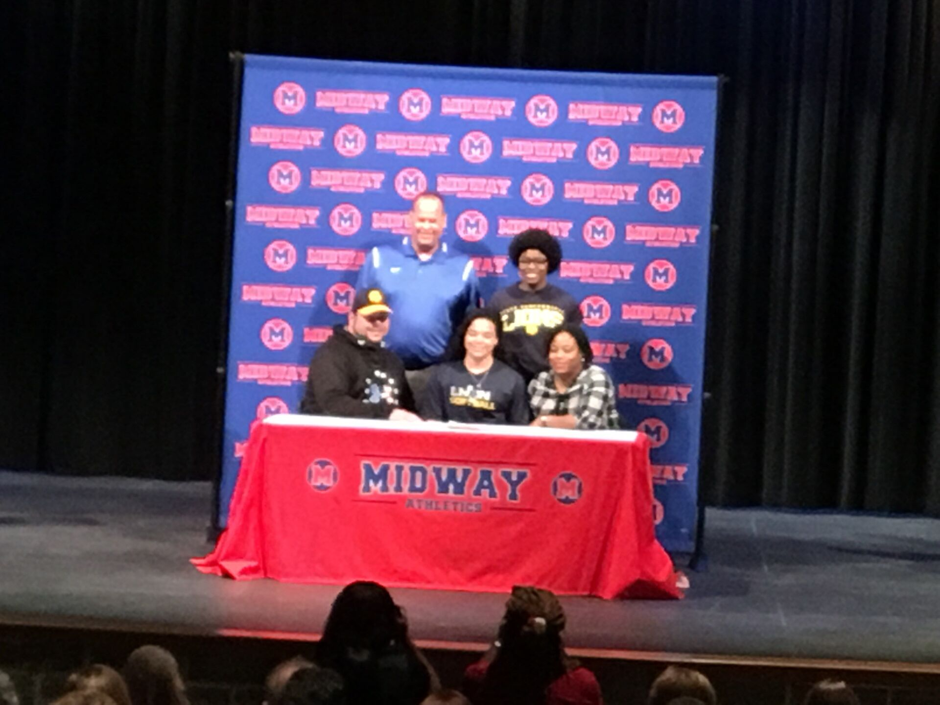 Midway ISD National Signing Day