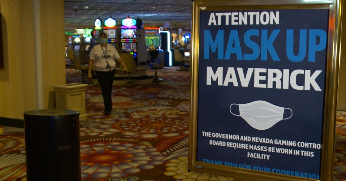 Wendover, much of Nevada under mask mandate again