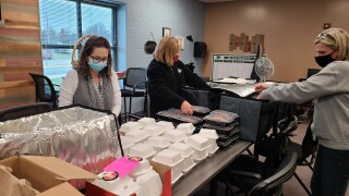 Kindness Kitchen at the Journey Bible Church is providing meals to families in need